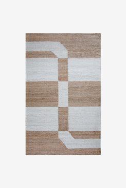 Allmodern Cheri Brown/Gray Area Rug (5'x7')