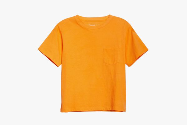 Entireworld Organic Cotton Jersey Pocket Boy Tee