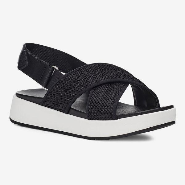 UGG Nella Slingback Platform Sandal