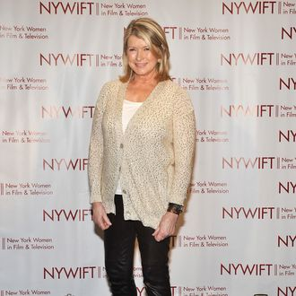 Martha Stewart attends the New York Women In Film & Television 31st Annual Muse Awards at the New York Hilton ? Grand Ballroom on December 7, 2011 in New York City.