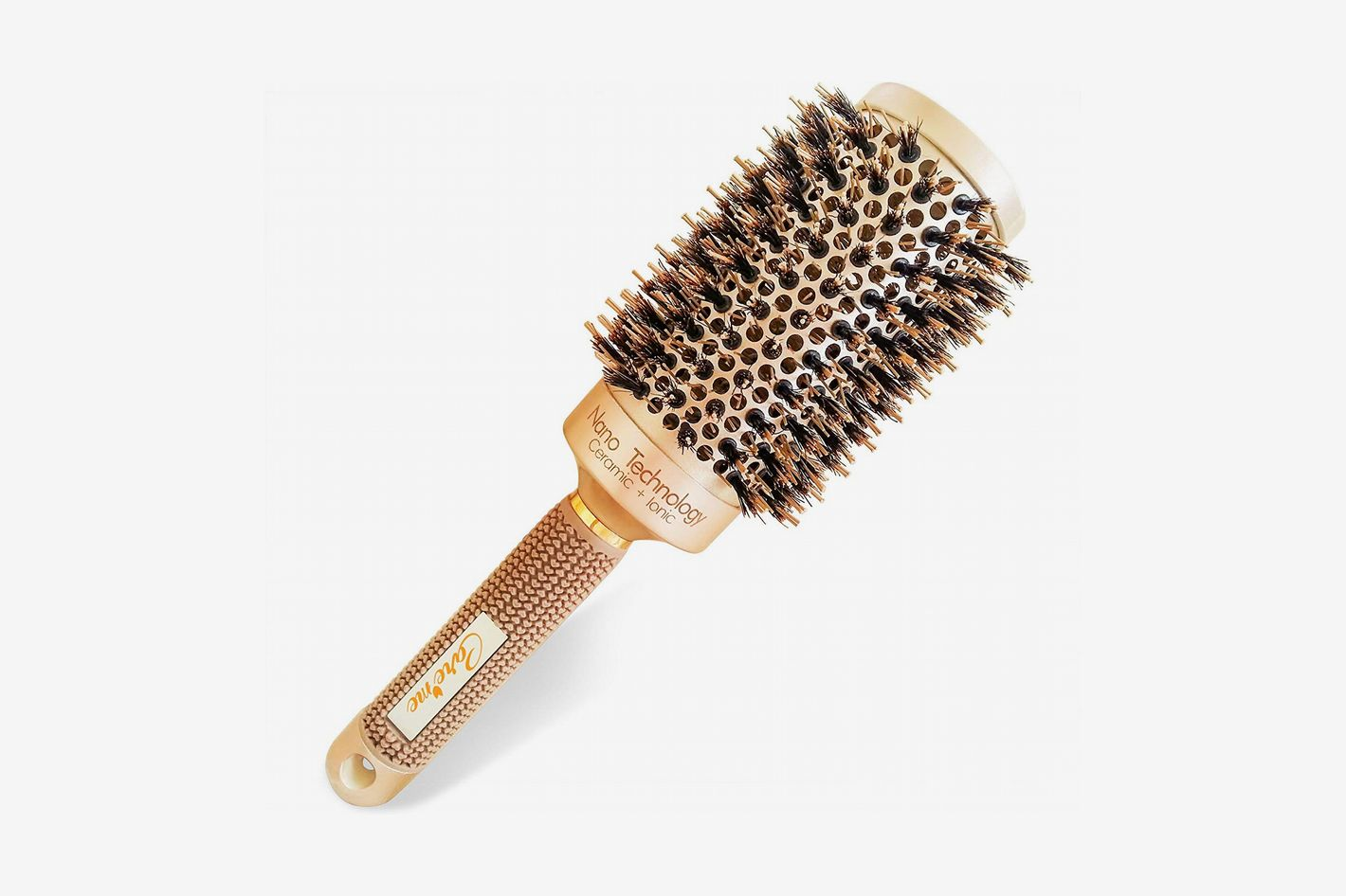 Care Me Round Hair Brush with Natural Boar Bristles