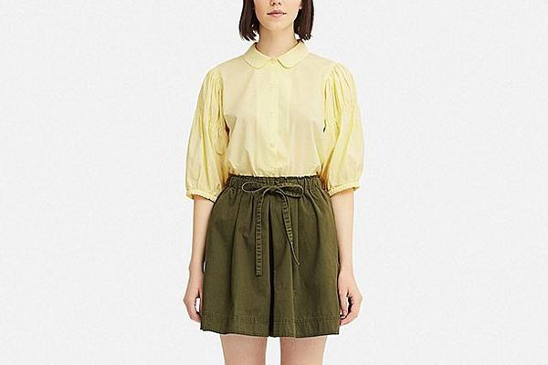 Women 3/4 Puff Sleeve Blouse