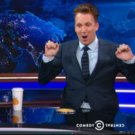 The Daily Show Takes on the Media's Odd Fascination With Pumpkin-Spice Lattes
