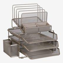 DESIGNA Stackable Mesh Desk Organizer