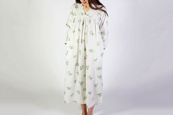 Domi Nightgown With Pintucks