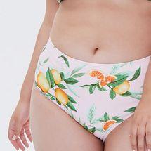 Forever21 Plus Size Orange Bikini Bottoms