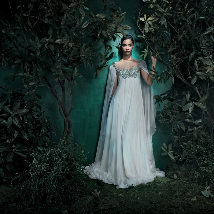 7 Wedding Gowns Fit for a Full-On Fairy Tale