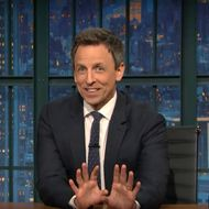 Seth Meyers Watched Donald
