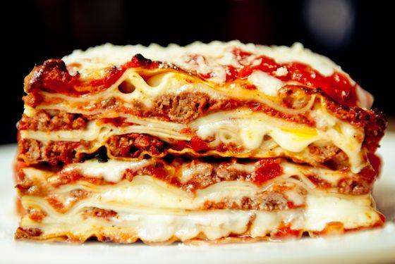 Tommy Lasagna's signature dish.