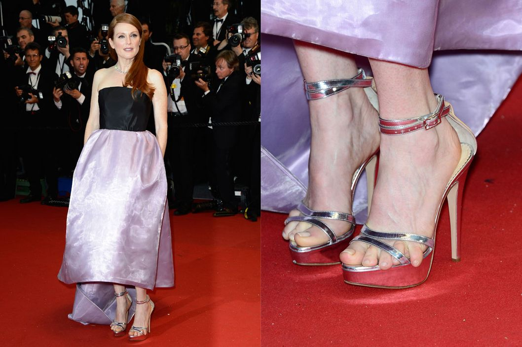 Julianne Moore Explains Her Cannes Foot Crisis -- The Cut