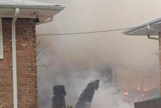 Navy F18 Jet Crashes Into Virginia Apartments -- Daily Intel