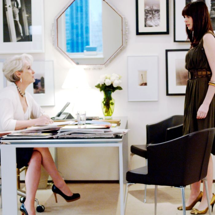 Miranda Priestly and Andrea Sachs, Part 2.