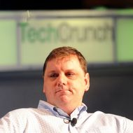 Michael Arrington, founder of TechCrunch, speaks at the TechCrunch Disrupt conference in San Francisco, California, U.S., on Monday, Sept. 27, 2010. The conference runs until Sept. 29. Photographer: Noah Berger/Bloomberg via Getty Images