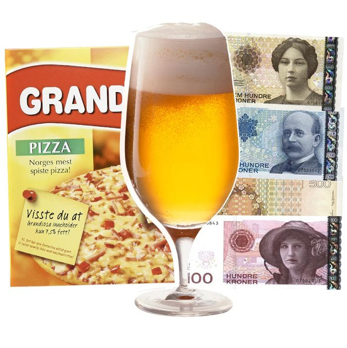 Pizza and beer, together at last.
