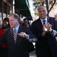 Democratic Senate Candidate Doug Jones Holds Campaign Rally In Birmingham