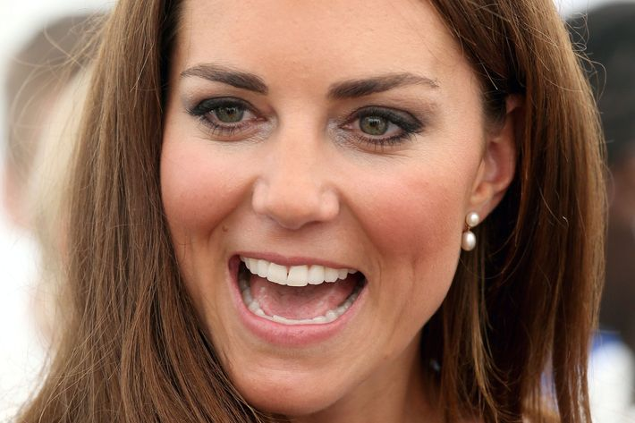 Kate Middleton's nose.