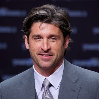 (From L) US actor Patrick Dempsey poses for photographers as he arrives for the European premiere of US film Transformers 3 in Berlin June 25, 2011. The franchise's third edition by US director Michael Bay will hit European screens on June 29, 2011. AFP PHOTO / JOHN MACDOUGALL (Photo credit should read JOHN MACDOUGALL/AFP/Getty Images)
