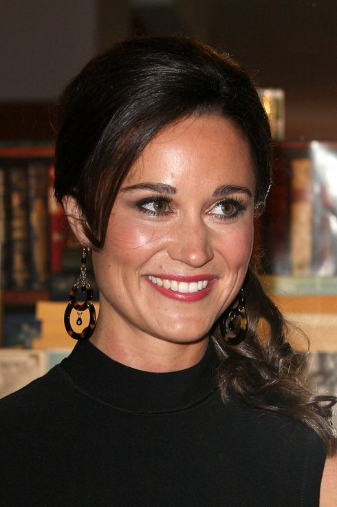 Pippa Middleton attends the book launch party for Pippa Middleton's 'Celebrate: A Year Of Festivities For Family and Friends' at Daunt Books on October 25, 2012 in London, England.