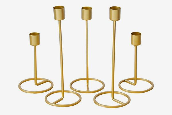 Baffect Season Candle Holder Set of 5,
