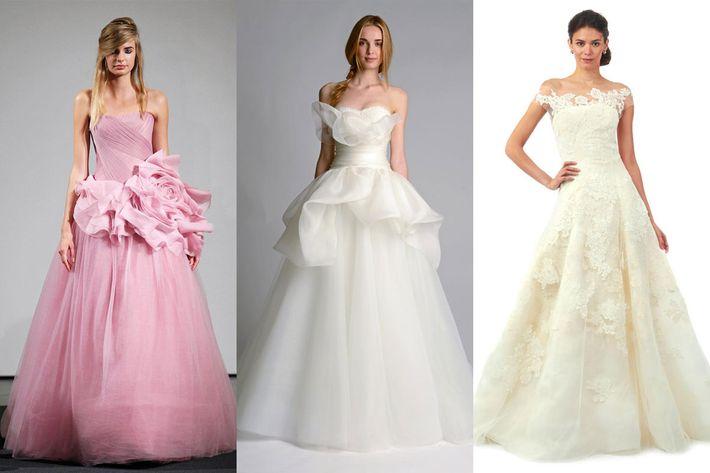 See the Fall 2014 Bridal Collections: Vera Wang, Oscar de la Renta ...