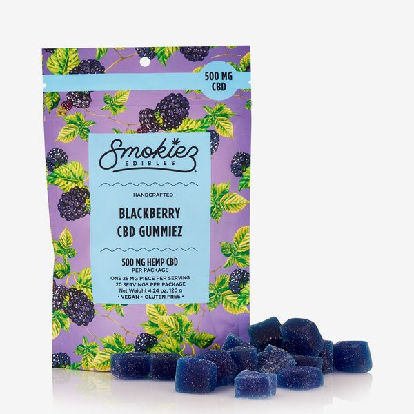 Smokiez CBD Blackberry Gummiez, 25 mg