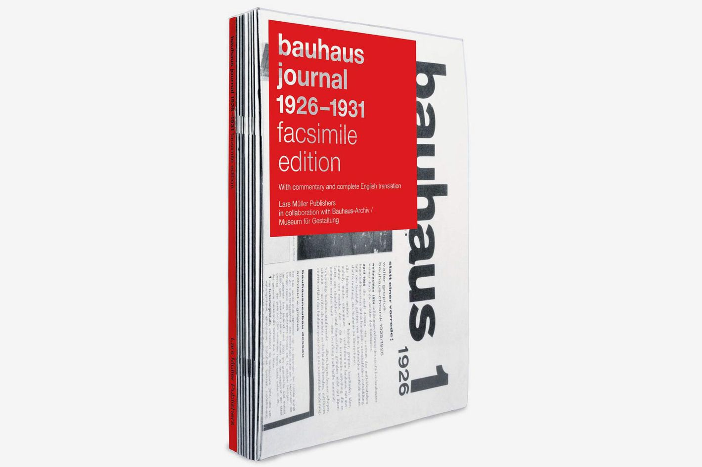 Bauhaus Journal 1926 1931 Facsimile Edition