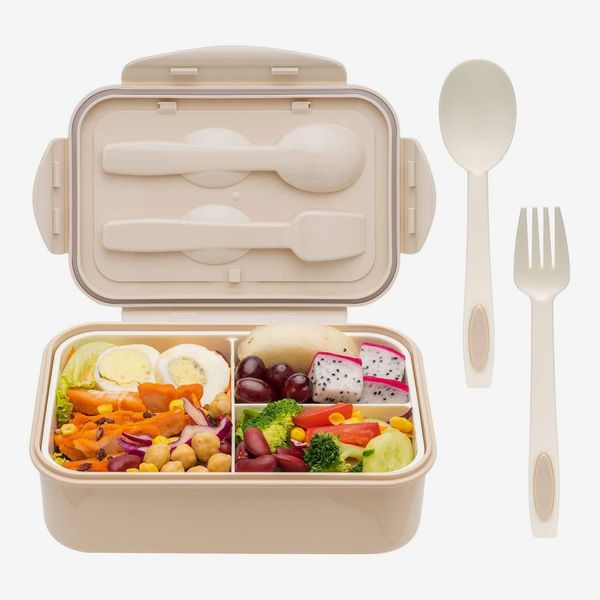 Bento Box With Spoon & Fork