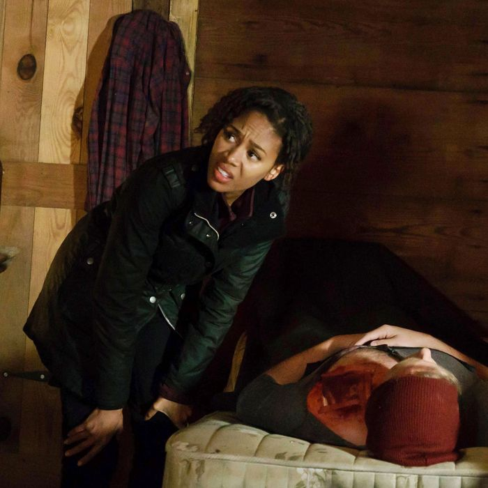 """SLEEPY HOLLOW: Nicole Beharie in the """"Into the Wild"""" episode of SLEEPY HOLLOW airing Friday, March 11 (8:00-9:01 PM ET/PT) on FOX. ©2016 Fox Broadcasting Co. Cr: Tina Rowden/FOX"""