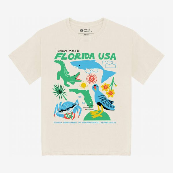 National Parks of Florida Organic Cotton Tee