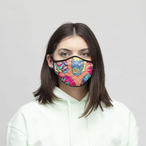 Custom Face Mask, 4 Pack
