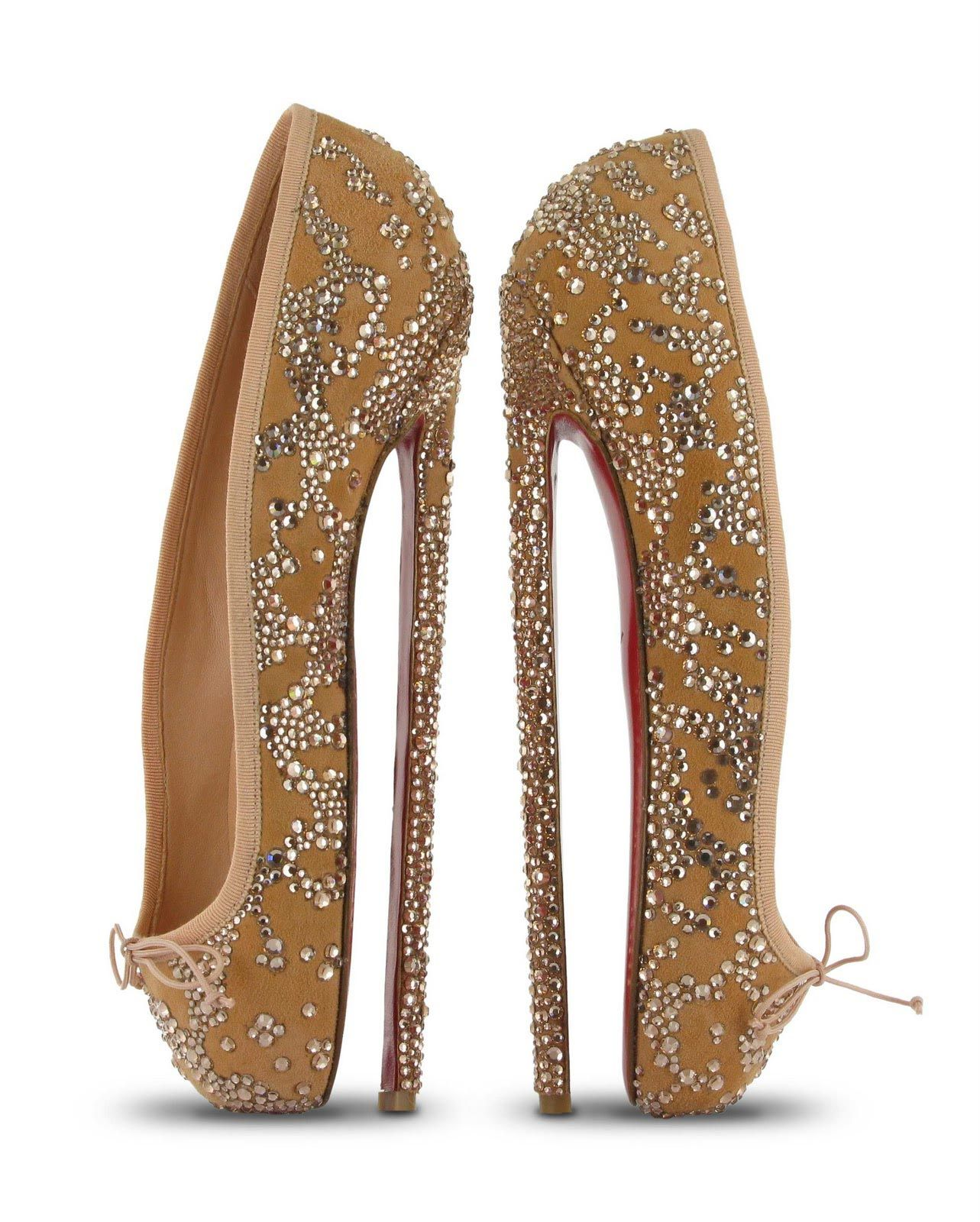 391a04f2d43 Christian Louboutin s Fetish Ballerine - Torturous Shoes - The Cut