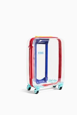 Zara Transparent Wheeled Carry-On