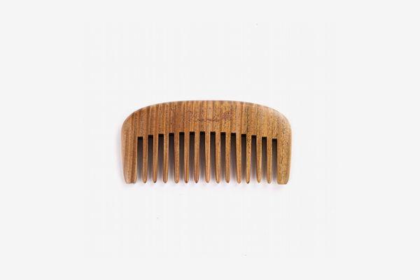Breezelike Wide Tooth Sandalwood Beard Comb
