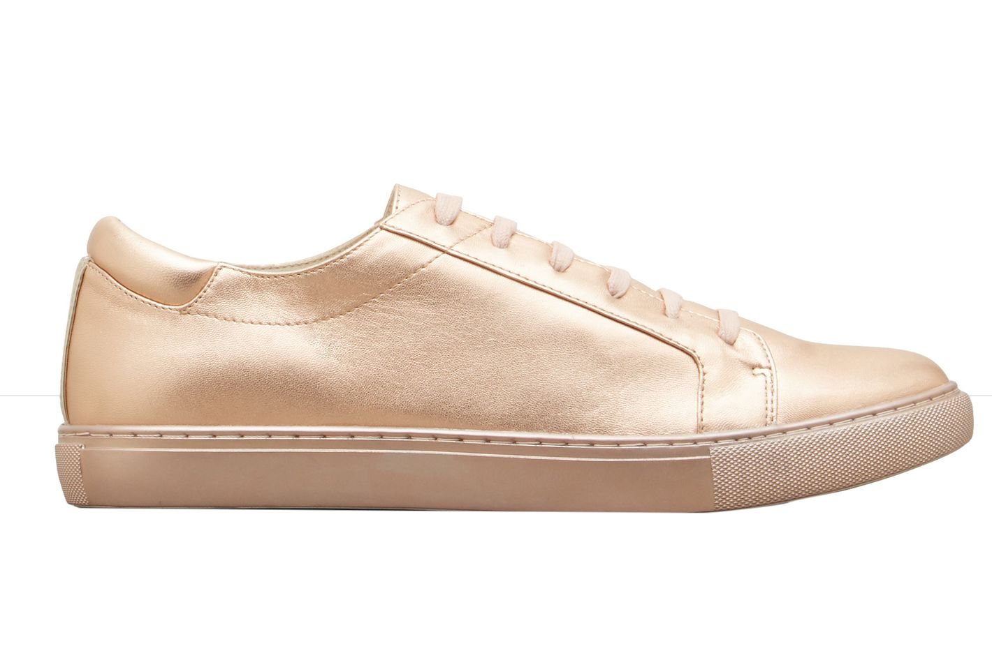 Kenneth Cole Kam Rose Gold Leather Sneaker