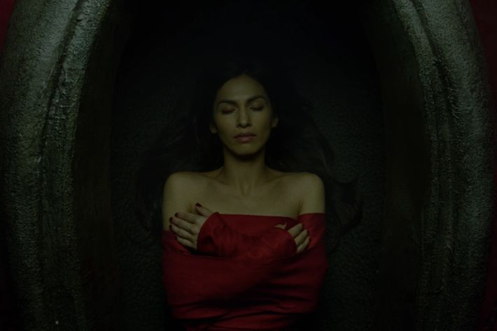Elodie Yung as Elektra.