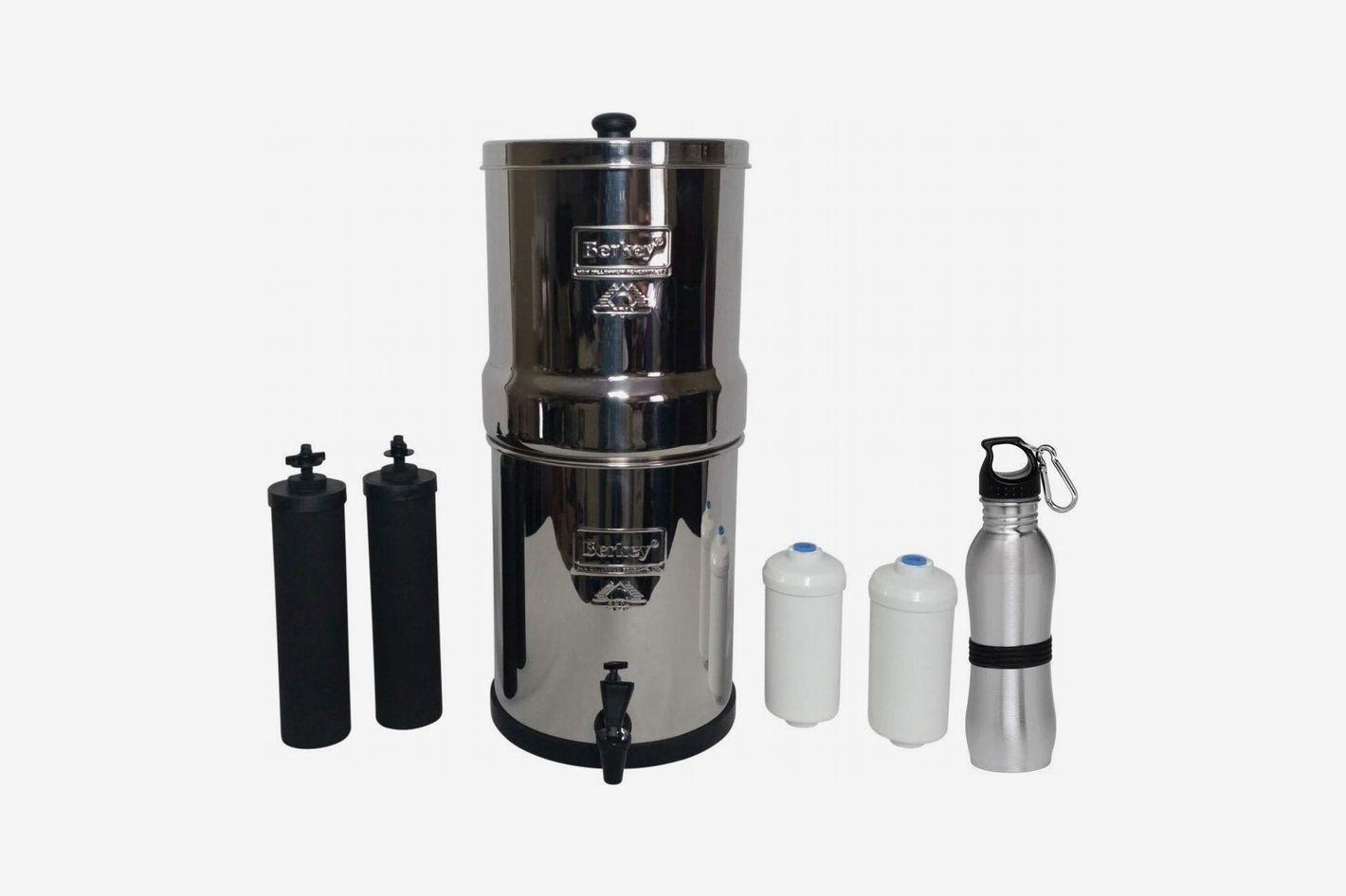 Big Berkey Water Filter 2.5 Gallon System Bundle