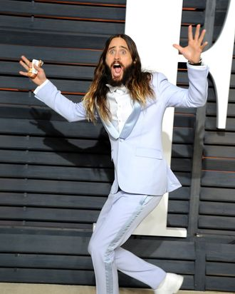 Jared Leto: a grown-up professional. (Jon Kopaloff/Getty Images)
