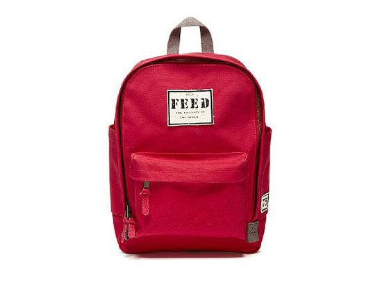 "Yes, this backpack looks good. The purchase price of each one also goes toward providing 75 school meals to hungry children. <a href=""http://www.feedprojects.com/shopping_product_detail.asp?pid=50074&catID=3680"">Feed Backpack</a>, $75"