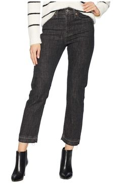 Levi's Womens Wedgie Straight Dark Secret Jeans