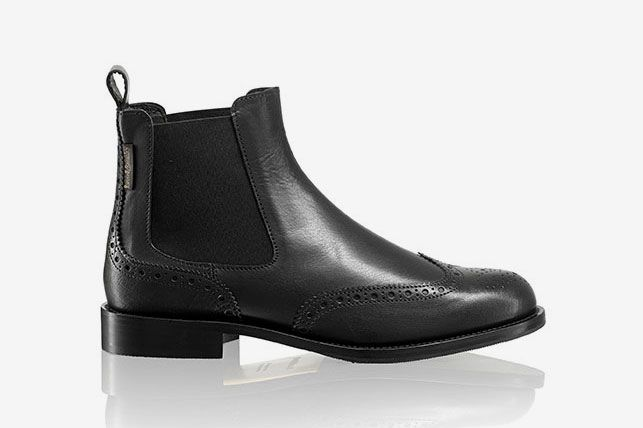 6050ec960d3 Russell and Bromley Cadogan Brogue Chelsea Boot