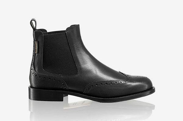 Russell and Bromley Cadogan Brogue Chelsea Boot