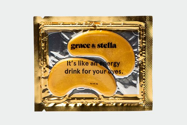 Grace & Stella Anti-Wrinkle + Energizing Gold Collagen Eye Masks