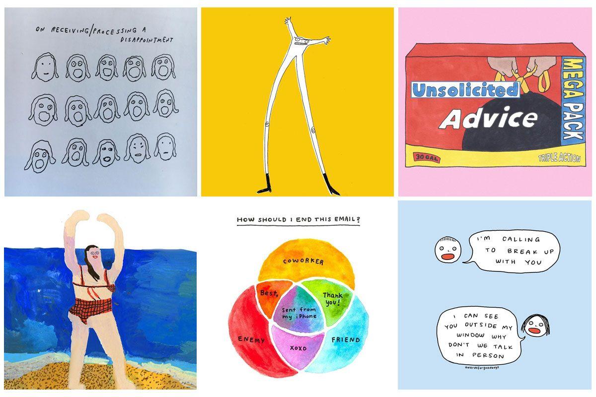 9 Of The Funniest Cartoonists And Illustrators On Instagram