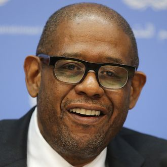 Actor and Sustainable Development Goals Advocate Forest Whitaker Attends A UN Press Briefing