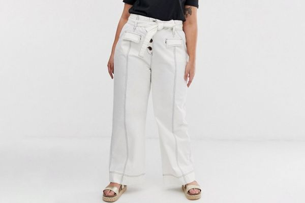 ASOS DESIGN Curve wide pants