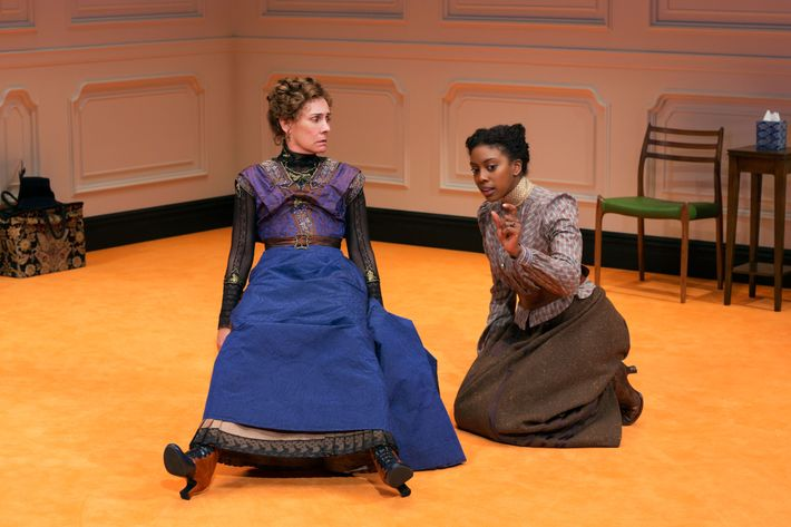 Laurie Metcalf and Condola Rashad in A Dollu0027s House Part 2. Photo Brigitte Lacombe  sc 1 st  Vulture & Theater: Reopening That Door With u0027A Dollu0027s House Part 2u0027