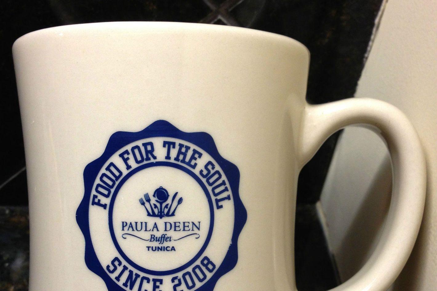 A $90 coffee mug looks like this.