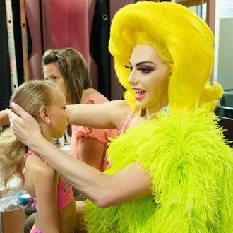 Alyssa Edwards Teaches The Children In Dancing Queen