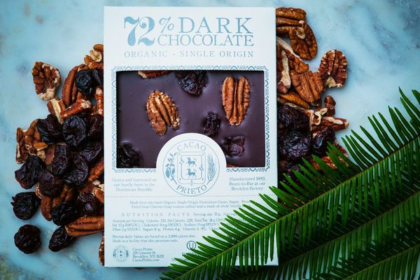 Cacao Prieto Pecan & Sour Cherry Bark Bar