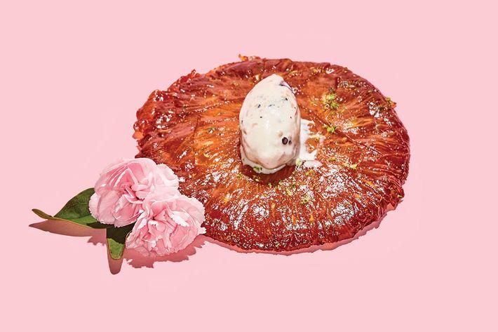Dirty French's tarte Tatin.